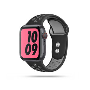 Tech-Protect Softband (Apple Watch 42/44mm) Black/Grey